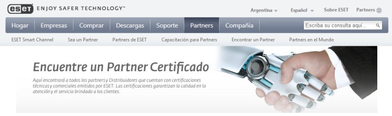 America Group Partner ESET