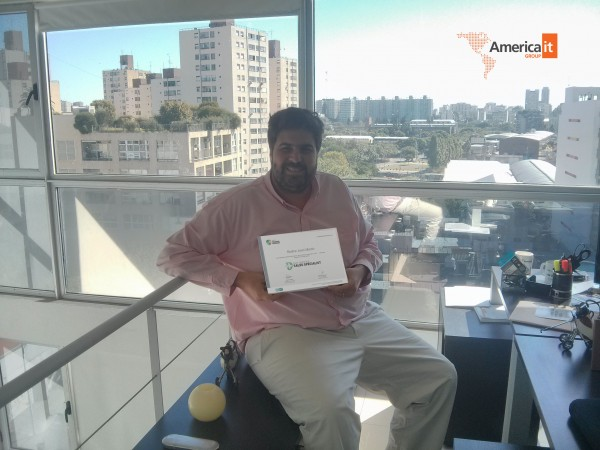 America Group Partner Certificado ESET